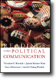 Sheckels et al., Readings on Political Communication. Please click here for more information.
